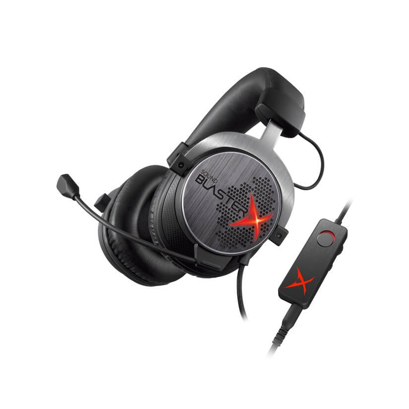 Creative Sound BlasterX H7 Tournament Edition Headset Black