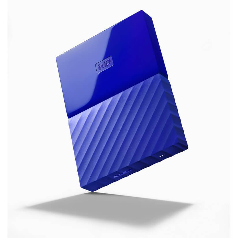 Western Digital My Passport 1TB USB 3 0 Blue