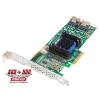 The Adaptec RAID 6805E Kit with Intelligent Power Management is a Unified Serial controller, 8 inter
