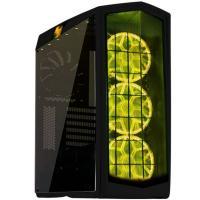 Silverstone PM01B-RGB Primera Black ATX Case Window No PSU