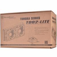 Silverstone Tundra TD02-LITE 120PWM 2 Fan Rubber Tub Liquid CPU Cooler
