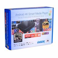 Laser Multi Media TV Box 4K Player with Keyboard Air Mouse