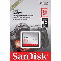 Compact Flash Card 16GB Ultra 50MB/s SanDisk