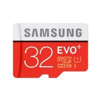 Samsung MicroSDHC 32G EVO Plus w Adapter  UHS-I Class 10