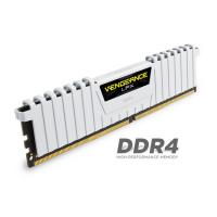 Corsair 16GB (2 x8) CMK16GX4M2B3200C16W DDR4  3200MHz Vengeance LPX DIMM White