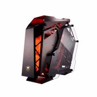 Cougar Conquer Open Frame Dual Tempered Glass Gaming case