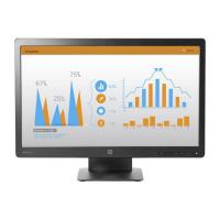"""HP P232 23"""" LED 5ms 16:9 1920X1080 VGA+DP 1.2 (with HDCP support) Tilt, 3 Yrs"""