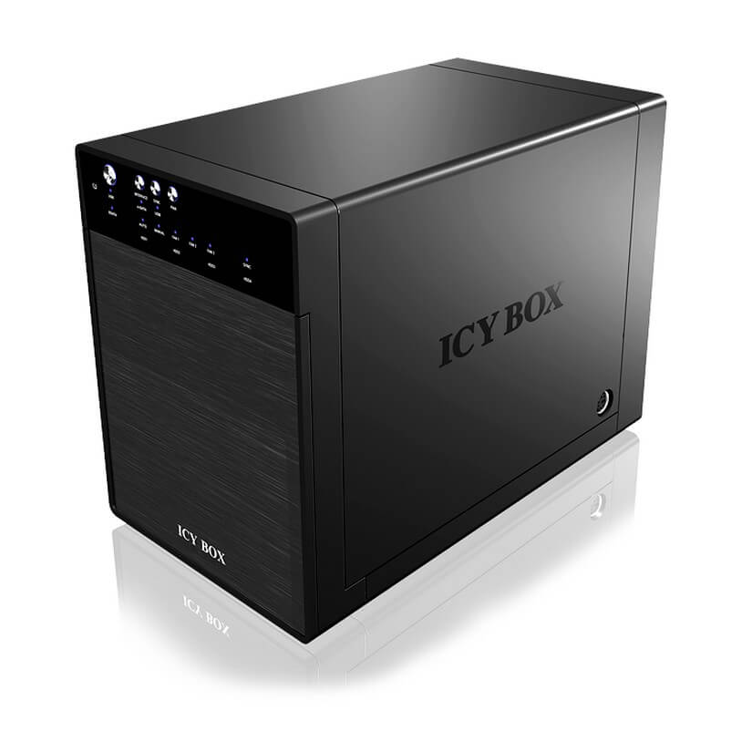 ICY BOX IB-3640SU3 External 4 Bay JBOD System for 3.5