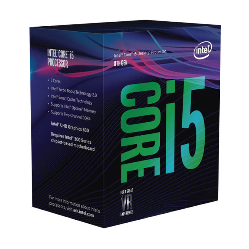 Intel Core i5 8400 Six Core LGA 1151 2.8 GHz CPU Processor