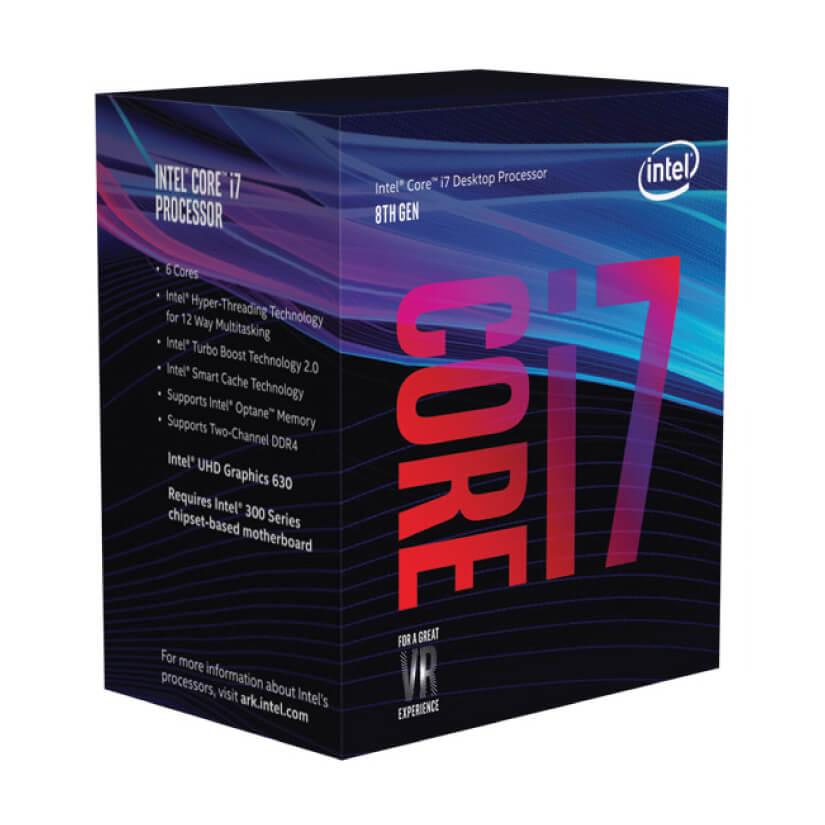 Intel Core i7 8700K Six Core LGA 1151 3 7 GHz CPU Processor