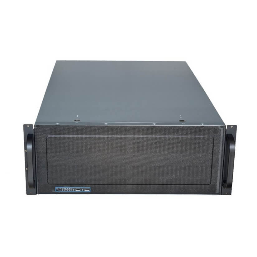 TGC Rack Mountable Server Chassis Case 4U 650mm Depth W ATX PSU Window