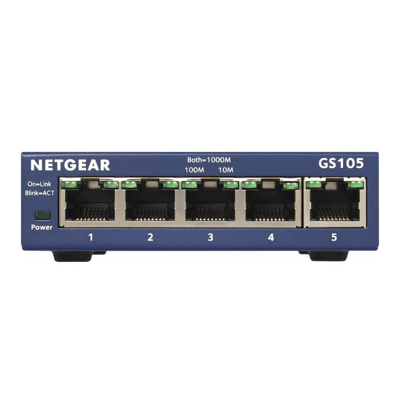 Netgear GS105 5 Port Gigabit switch