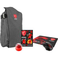 MSI Summer Pack -Air Backpack Mouse Pad Sticker Cup