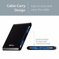 Silicon Power A80 Black 1TB Shockproof, Water-proof External Hard Drive - USB 3.0