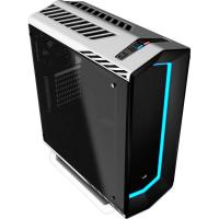 Aerocool P7-C1 White Mid Tower Case USB 3.0, 7 color LED front panel Tempered Glass