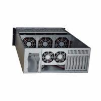 TGC Rack Moubtable Server Chassis Case 4U 650mm Depth W ATX PSU Window