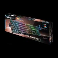 Rocaat SUORA FX RGB Illuminated Frameless Mechanical Gaming Keyboard (Blue Switch)