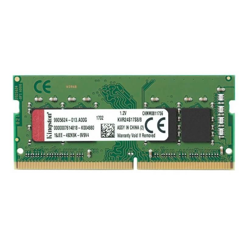 Kingston 8GB DDR4-2400MHz Non-ECC SODIMM 1Rx8