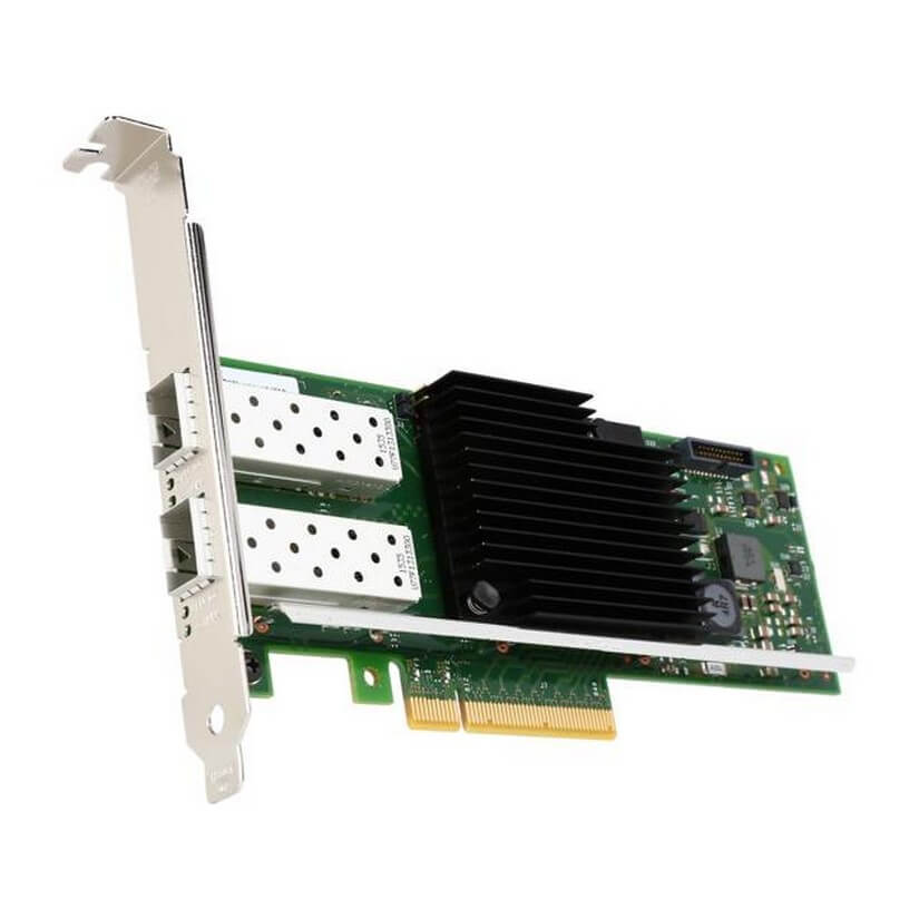 Intel X710-DA2 Dual Port 10GbE SFP+ PCIe3.0 x8, direct attach copper Converged
