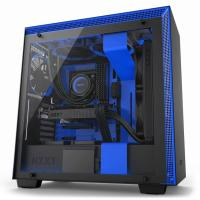 NZXT H700i Matte Black/Blue Smart Case