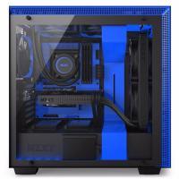 NZXT H700i Matte Black/Blue Smart Case