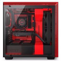 NZXT H700i Matte Black/Red Smart Case