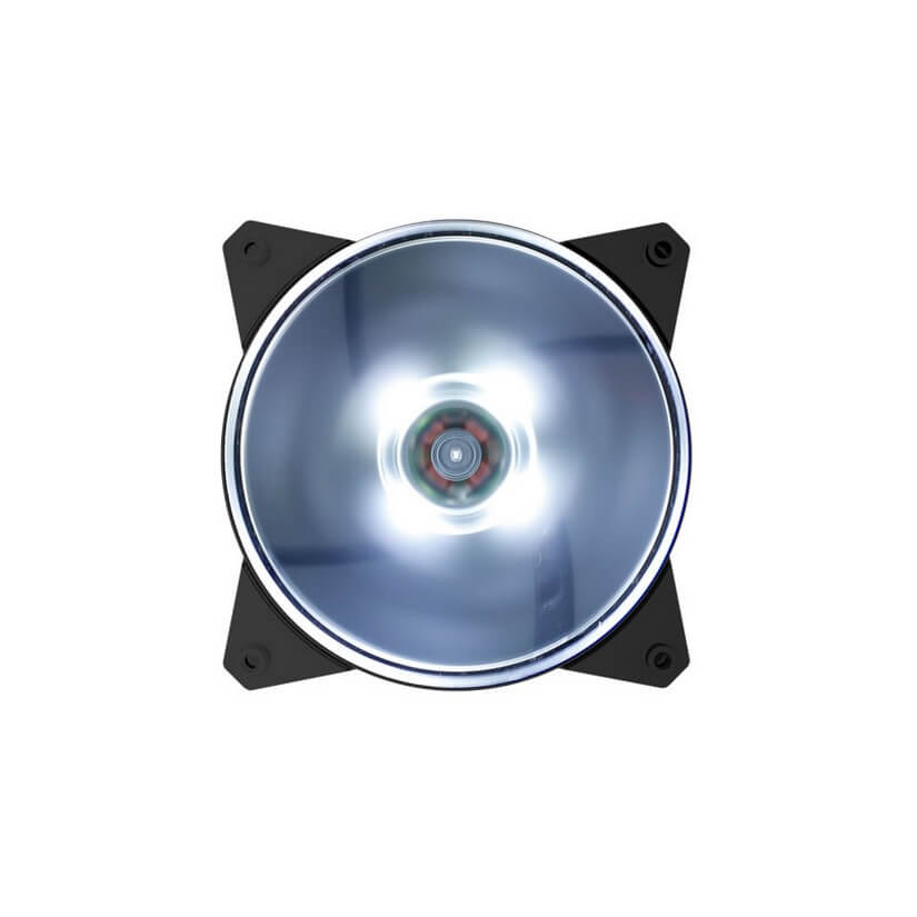 Cooler Master MasterFan Lite MF120L 120mm White LED Fan