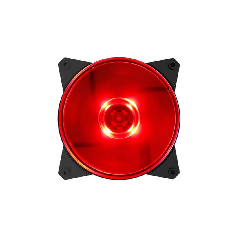 Cooler Master MasterFan Lite MF120L 120mm Red LED Fan
