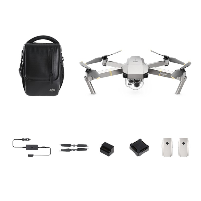 DJI Mavic Pro Platinum Combo Camera Drone
