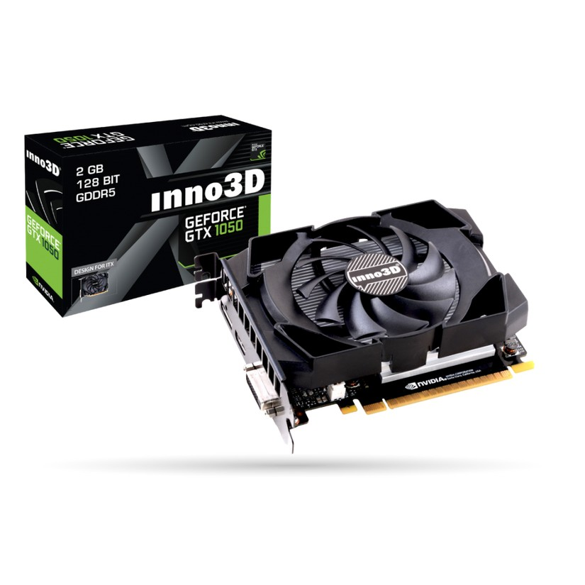 INNO3D GeForce GTX 1050 Compact 2GB