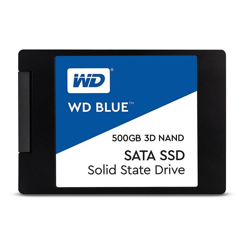 WD Blue 500GB 3D NAND 2.5in SATA SSD