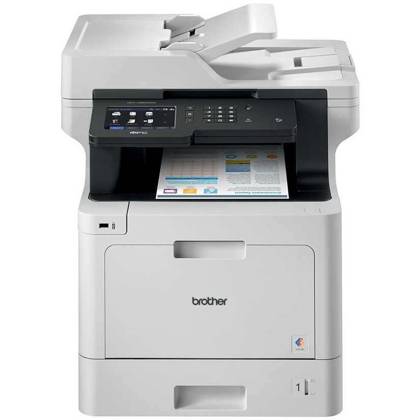 Brother MFC-L8900CDW Wireless Colour Laser Multi-Function Centre 2-Sided Print/Scan/Copy/Fax