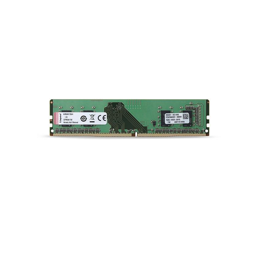 Kingston 4GB DDR4 2400Mhz Non-ECC KVR24N17S6/4
