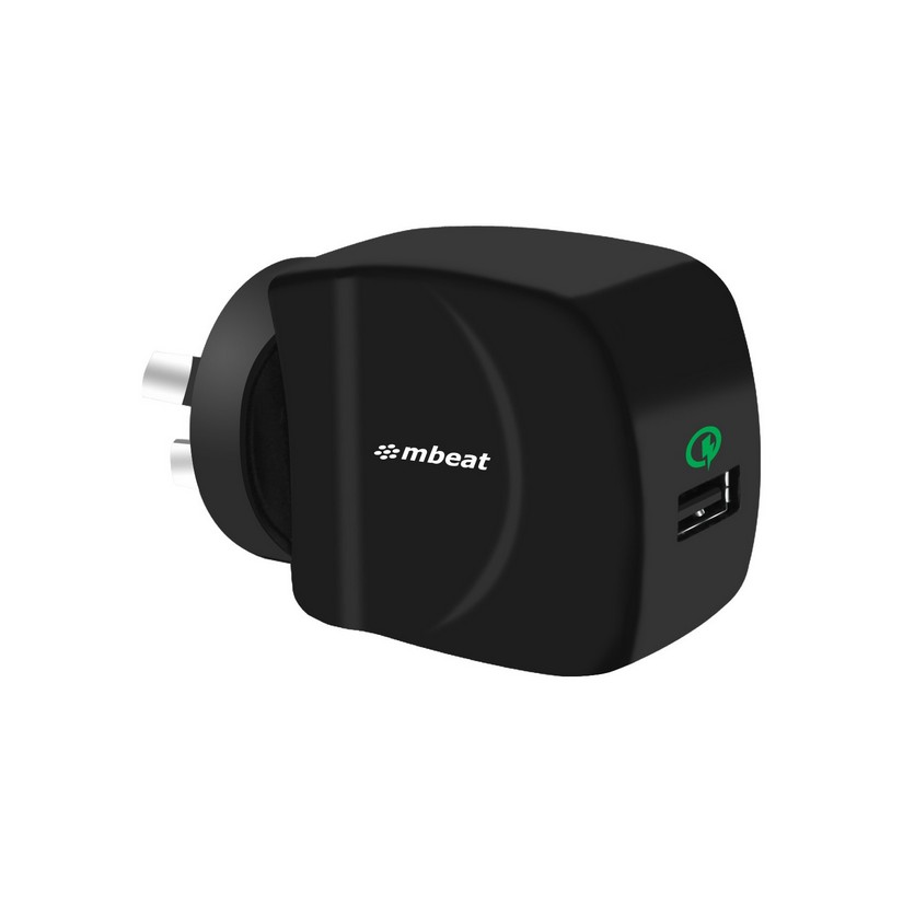 mbeat GorillaPower QC Qualcomm Certified USB Quick Charge 2 0 Charger