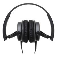 Audio-Technica ATH-AR1iS-BK On Ear Headphones For Smartphones