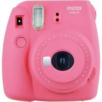 Fujifilm Instax Mini 9 Flamingo Pink Instant Film Camera