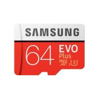 Samsung 64GB Micro SDXC Evo Plus 100MB/s W60MB Class 10 with adapter