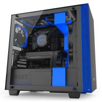 NZXT H400i USB3.1 Matte Black/Blue mATX Case