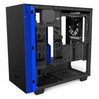 NZXT H400i USB3.1 Matte Black/Blue mATX Case