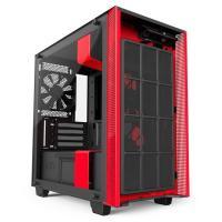 NZXT H400i USB3.1 Matte Black/Red mATX Case