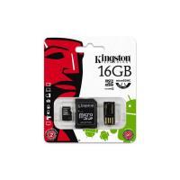 Kingston 16GB Multi Mobility Kit Class 4 MicroSD Card