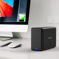 Orico Black NS200-U3 2 Bay USB3 External Hard Drive Enclosure