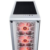 Corsair 460X RGB White Tempered Glass ATX Mid-Tower Case