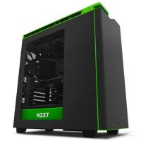 NZXT H440 Mid Tower Case Black/Green