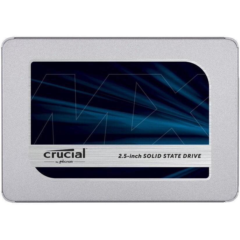 "Crucial MX500 250GB 3D NAND SATA 6Gbps 2.5"" SSD"