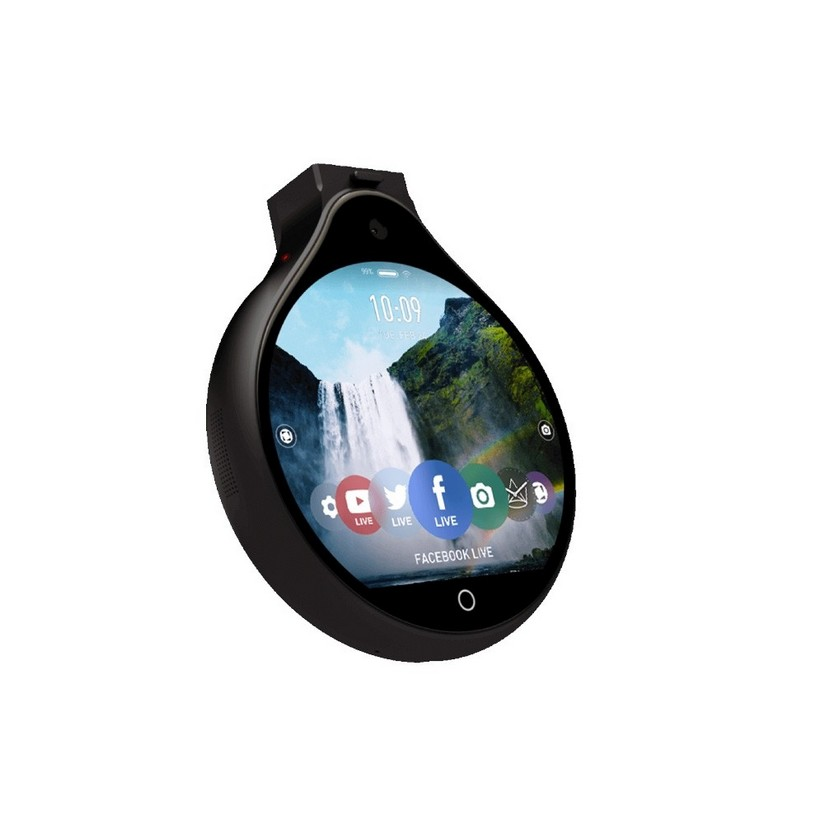 Ubiquiti Labs Front Row Full HD Wearable Camera - Black