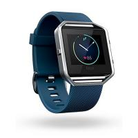 Fitbit Blaze Smart Fitness Watch Small Blue