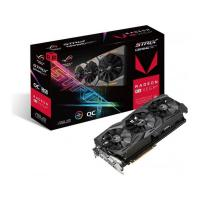 Asus ROG-STRIX-RXVEGA64-O8G-GAMING DDR5 PCIe Video Card 7680x4320, 1xDVI, 2xHDMI, 2xDP