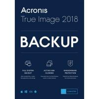 Acronis True Image 2018 for 1 Computer (Limit 1 per Customer while stock last)
