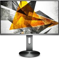 AOC I2790PQU IPS 27 inch 5ms DP HDMI VGA Speakers Height Adjustable USB VESA100 Black & Titanium